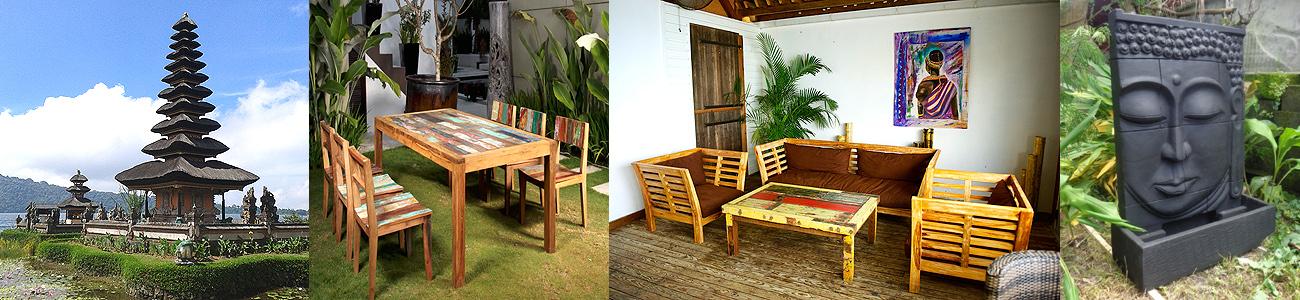 Meubles en Teck et Décoration - Colibri Spirit Martinique